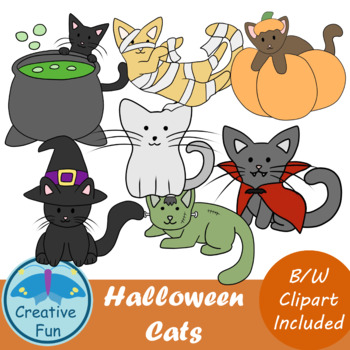 Halloween Cat Clip Art