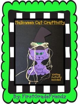 Halloween Cat Craftivity