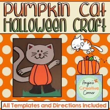 Pumpkin Cat Halloween Craft
