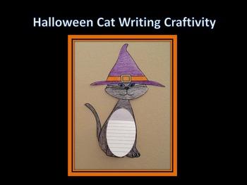 Halloween Cat Writing Craftivity