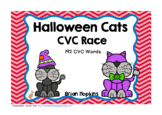 Halloween Cats CVC Word Race