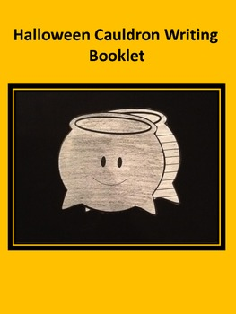 Halloween Cauldron Writing Booklet