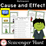 Halloween Cause and Effect Scavenger Hunt