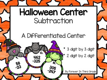Halloween Subtraction