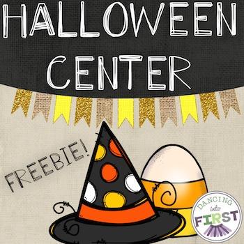 Halloween Center Haunted House Using Senses- FREEBIE