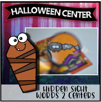 Halloween Center ~ Hidden Sight Words