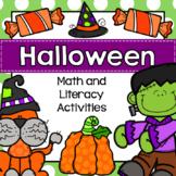 Halloween Center: Preschool, TK, Kinder, and Homeschool