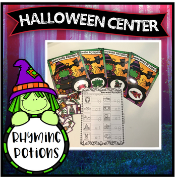 Halloween Center ~ Rhyming Potions