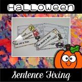 Halloween Center ~ Sentence Fixing