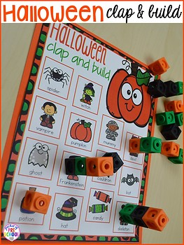 Halloween Math And Literacy Centers For Preschool Pre K