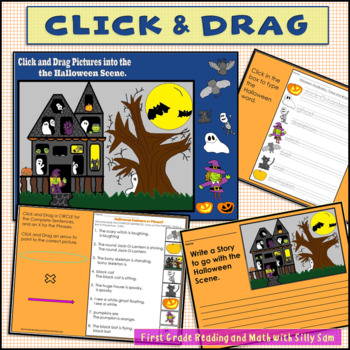 Halloween Centers Language Arts Common Core Aligned
