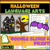 Halloween Language Arts First Grade
