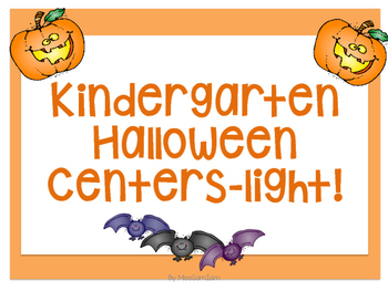 Halloween Centers -Light!