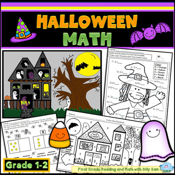 Halloween Centers MATH Common Core Aligned