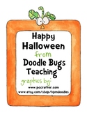 Halloween Centers Math, Language & Writing
