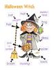 Halloween Centers Math, Language & Writing