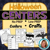 Halloween Activities Crafts Primary Centers