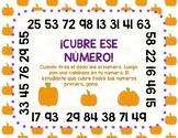 Halloween Centers (Spanish)
