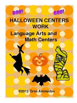 Halloween Centers Work