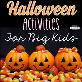 Halloween Activities for Big Kids