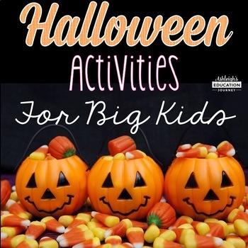 Halloween Activities for Big Kids