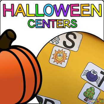 Halloween {Centers and Independent Practice}