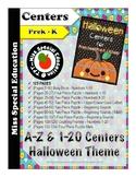 Halloween Centers for Preschool, Pre-K & Kindergarten- Mat