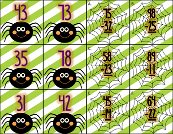 Halloween Centers for Second Grade (Math & Literacy Bundle)