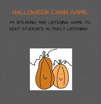 Halloween Chain Game