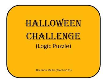 Halloween Challenge - Fun Logic Puzzle