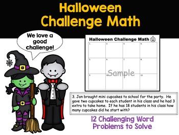 Halloween Challenge Math