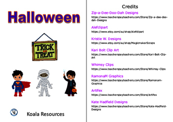 Halloween Chapter Style Easy Reader