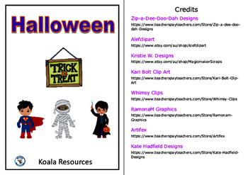 Halloween Chapter Style Easy Reader US Version