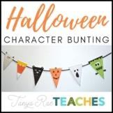 Halloween Character Bunting Printable