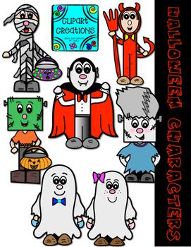Halloween Character Clipart