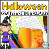 Halloween Creative Writing and Foldable