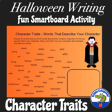Halloween Character Traits - No Prep SmartBoard Vocabulary Activity
