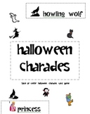 Halloween Charad Card Cut Out