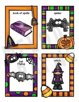 Halloween Games {5 Games in 1! 88 Halloween-Themed Phrases & Picture Cards!}