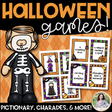 Halloween Games {Charades, Pictionary, 20 Questions, Telep