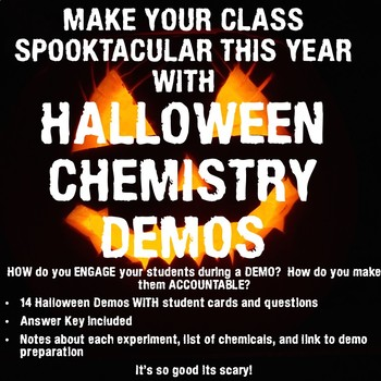 Halloween Chemistry Demos