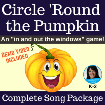 Halloween Circle Game | Circle 'Round the Pumpkin | Complete Song Package
