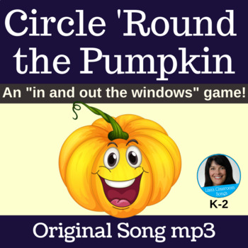 Halloween Circle Game | Circle 'Round the Pumpkin by Lisa Gillam | Song mp3