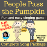 Halloween Circle Game | People Pass the Pumpkin | Complete Original Song Package