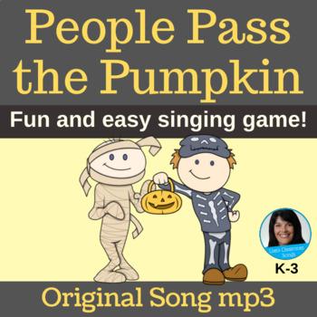 Halloween Circle Game | People Pass the Pumpkin | Original Song | mp3