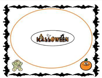 Halloween Circle Map