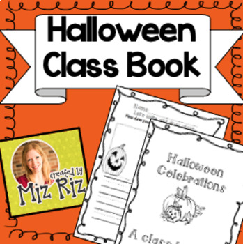 Halloween Class Book!