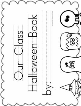 Halloween {Class Book}