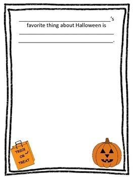 Halloween Class Book