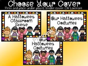 Halloween Class Book Kindergarten 1st Grade Writing Center Writing Workshop
